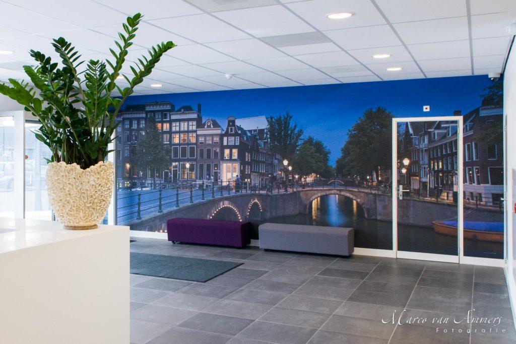 groot formaat foto Amsterdam